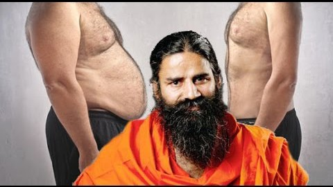 How Reduce fat on stomach and waist with Baba Ramdev Yoga YouTube
